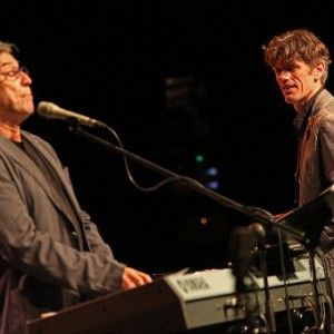 Ivan Lins and Ralf Schmid with SWR Big Band at STIMMEN Festival 2015