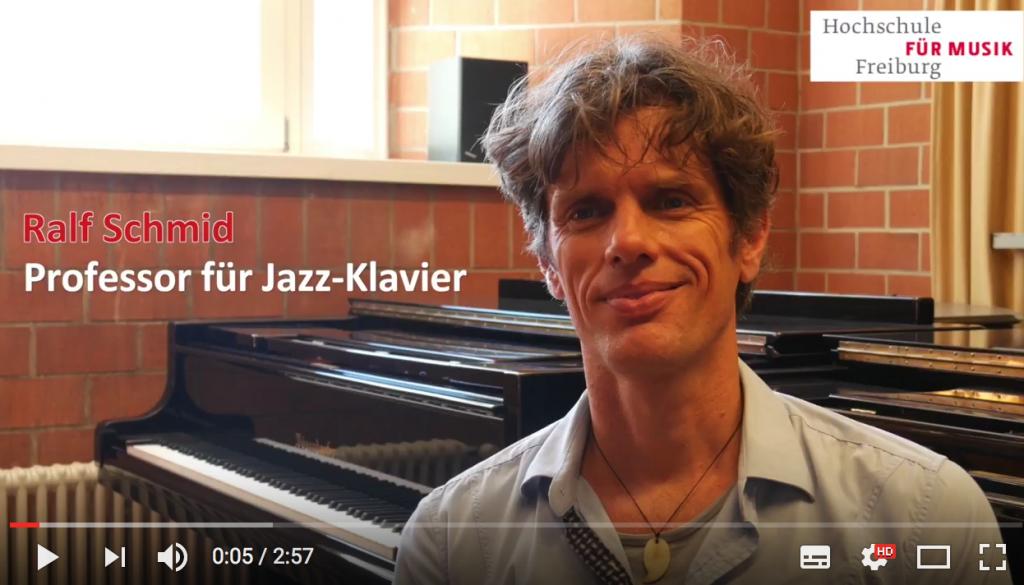 Ralf Schmid Professor Jazzklavier MH Freiburg